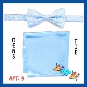 2/$30 Apt.9 Blue Bow Tie Set NIB C10